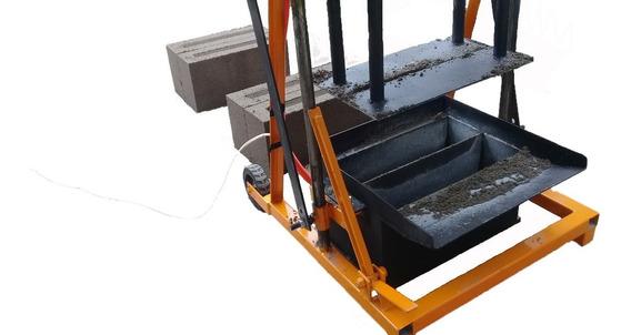 Maquina Ponedora Para Fabricar Block 12x20x40