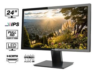 Monitor Janus Ips 24 Hdmi/vga Resolución 1920 X 1080 Full H