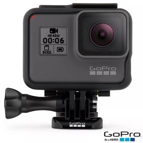 Câmera Digital Gopro Hero 6 Black Lacrada Com Nfe