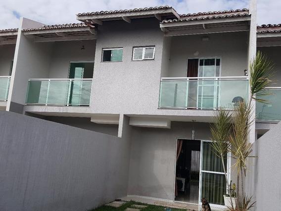 Casa Nova, 03 Quartos Sendo 02 Suítes, Maraponga. - Ca0029