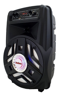 Parlante Portatil Usb Sd Mp3 Bluetooth Karaoke + Mic Y Audio