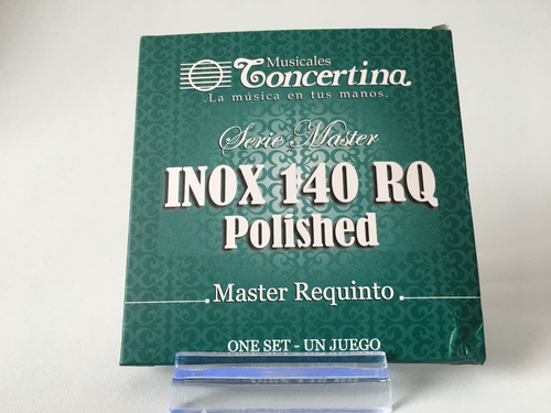 Encordado Concertina Inox 140 Requinto