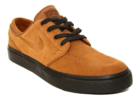Zapatillas Nike Hombre Janoski Marron Negro