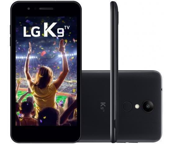 Novo Lg K9 Tv 4g Preto Vem Com Tv Digital Pra Você Assistir
