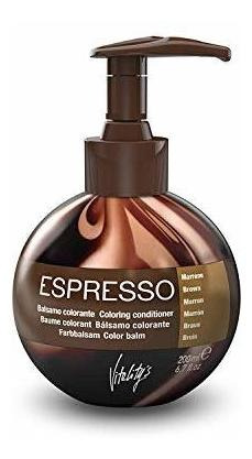 De La Vitalidad De La Queratina Del Espresso Colorear Acondi