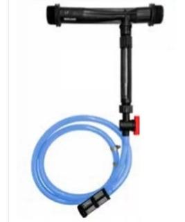 Inyector Venturi De 2 Con Succión De 3 Mts Y Rotametro