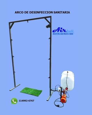 Arco/cabina/tunel Desinfección Sanitaria Apto Sanitizante