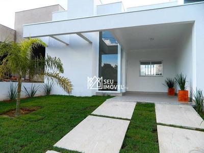 Casa Com 3 Dormitórios À Venda, 105 M² Por R$ 440.000 - Condomínio Village Moutonnée - Salto/sp - Ca1730