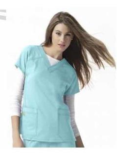 Uniforme Quirúrgico Conjunto Dama Aqua Doctora Dentista