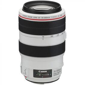 Lente Canon Ef 70-300mm F/4-5.6l Is Usm Cinza