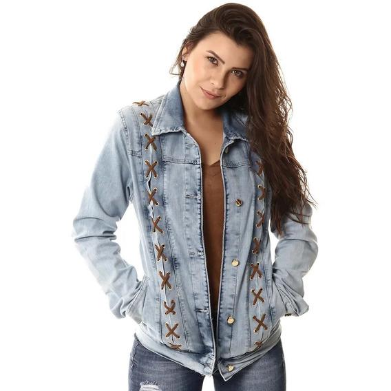 Jaqueta Jeans Feminina Sawary
