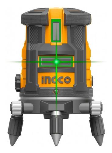 Imagen 1 de 6 de Nivel Laser Autonivelante Industrial Verde Ingco Hll305205