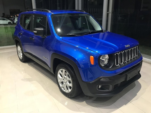 Jeep Renegade 1.8 Sport At6 My20 0km Financiamiento - Mlr
