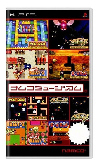 Namco Museum Battle Collection Psp Mídia Física