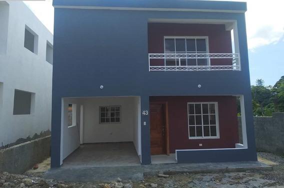 Casa En Proyecto Cerrado Casas 2 Niveles! En El Km 4