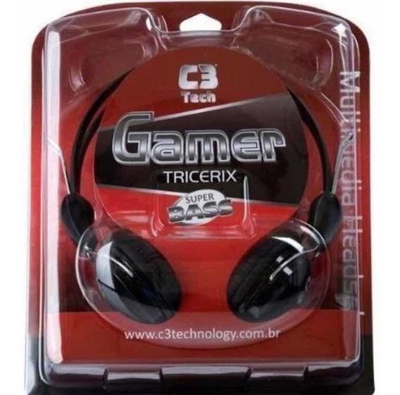 Headphone Tricerix M2280erc C3tech Novo Compre Kit Economize