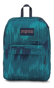Mochila Jansport Digibreak Azul Listrada