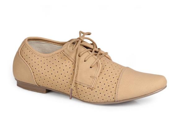 Sapato Oxford Facinelli Furos