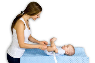 Cambiador Para Bebé (colchón + Forro Impermeable + Funda Lavable) Cambio Pañales