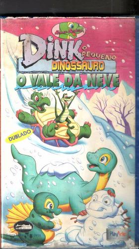 Vhs Dink O Pequeno Dinossauro -o Vale Da Neve/original