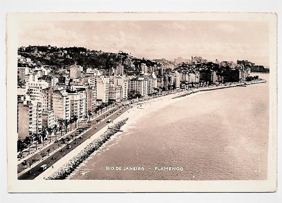 Cartao Postal Antigo Flamengo Rio De Janeiro - Rj - Anos 40
