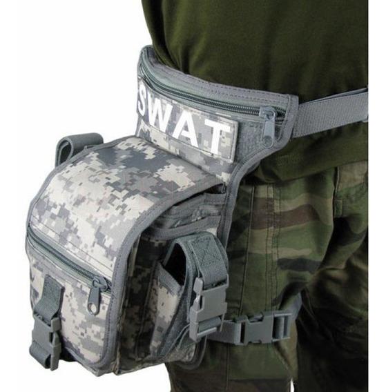 Piernera Tactica Acu Militar Americana Swat Original