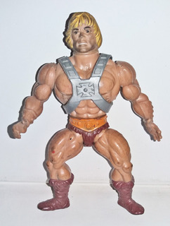 He Man Muñeco Vintage Motu 80 Mattel Top Toys