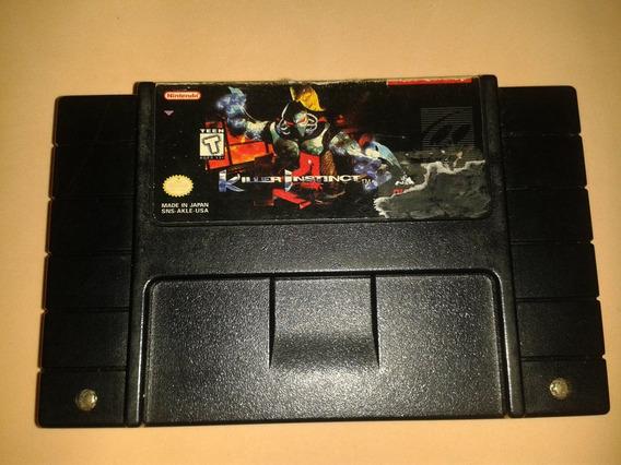Jogo Killer Instinct Original Americano Super Nintendo Snes