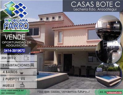 Venta De Casa Ubicada En Casa Bote B Ve03-0004cb-mp