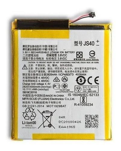 Batería Battery Para Motorola Moto Z3 Play Js40
