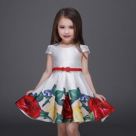 Vestido Infantil Festa Aniversário, Casamento, Florista