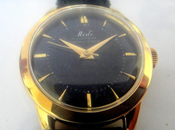 Relógio Mido Automático De Ouro 18k Semi Novo