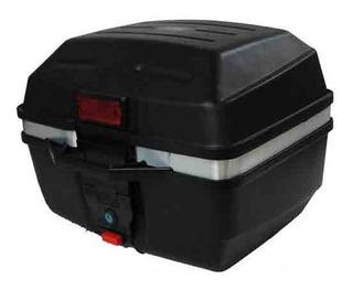 Cajuela Caja Baul Maletero Portaequipaje Moto 33l Cuadrada