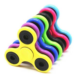 Fidget Spinner Fluorecente Brilla Oscuridad Anti Estrés
