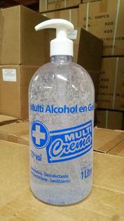 Alcohol En Gel Litro Amplio Stock