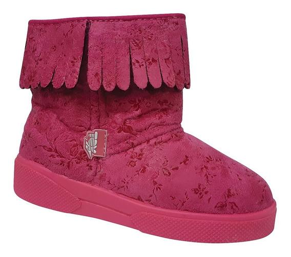 Zapatilla Pantubota Niñas Toy Boot 02 Fucsia Talle 20 Al 26