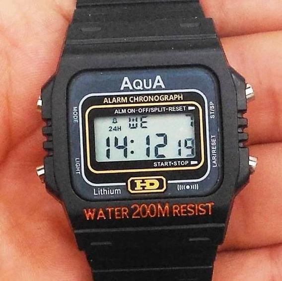 Kit Com 4 Relógios Aqua Aq-37 ( Resistente À Água ) Atacado