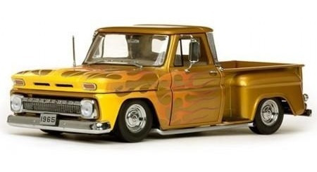 Miniatura Carro Sun Star Chv.c-10 S.pickup L/r 1965 Escala 1