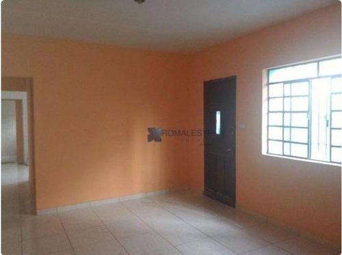 Casa Com 2 Dormitórios À Venda, 80 M² Por R$ 360.000,00 - Vila Califórnia - São Paulo/sp - Ca0065