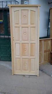 Puerta Económica De Madera (blanca) Sin Garantia