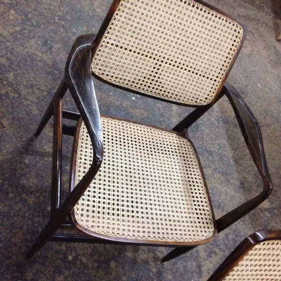 Cadeira Poltrona Oscar Niemeyer Jacarandá Anos 50