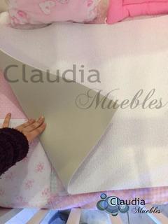 Protector De Colchón 120x60 De Toalla Y Goma Claudia Muebles