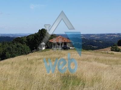 Excelente Sítio Na Região De Contenda, Com 96.800 Mts², Com Casa Sede De 180 M² (3 Quartos, Sala, Cozinha, Banheiro) - St00001 - 32341215