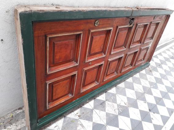Antigua Puerta Pentágono A Restaurar C/marco Demolición