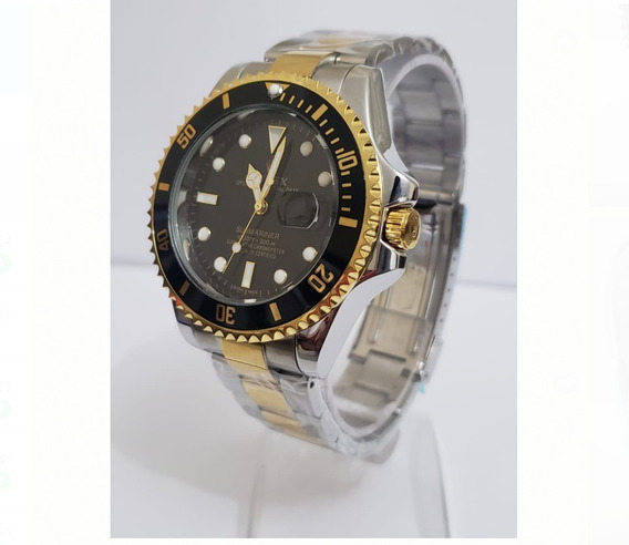Relógio Masculino Silver/ Golden/ Black