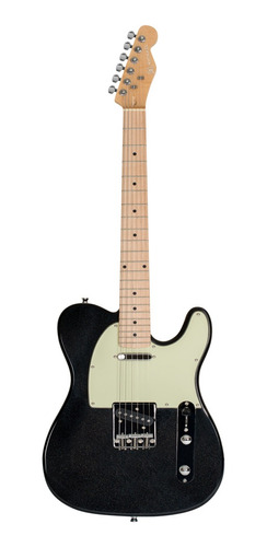 Imagem 1 de 3 de Guitarra Michael Telecaster Gm385n Mbk Preto Metalico