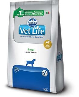 Ração Vet Life Natural Renal Cães Mini 10kg Pett