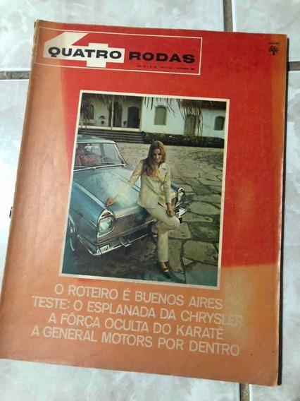 Quatro Rodas Set 1967 Simca Esplanada Pontiac Frete Grátis!!
