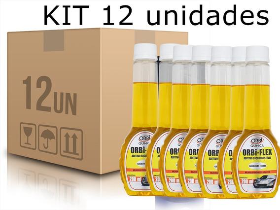 Kit 12 Aditivos Flex Aumenta A Potencia Do Motor Or1797