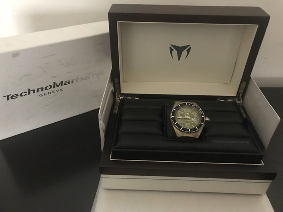 Reloj Technomarine 100% Original Quarzo Extens. Transparente